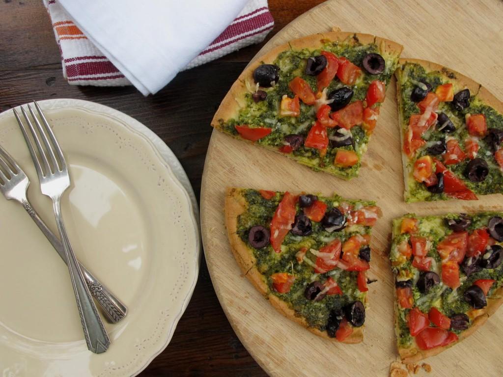 Gluten-free pesto pizza recipe   Gluten Free For Good
