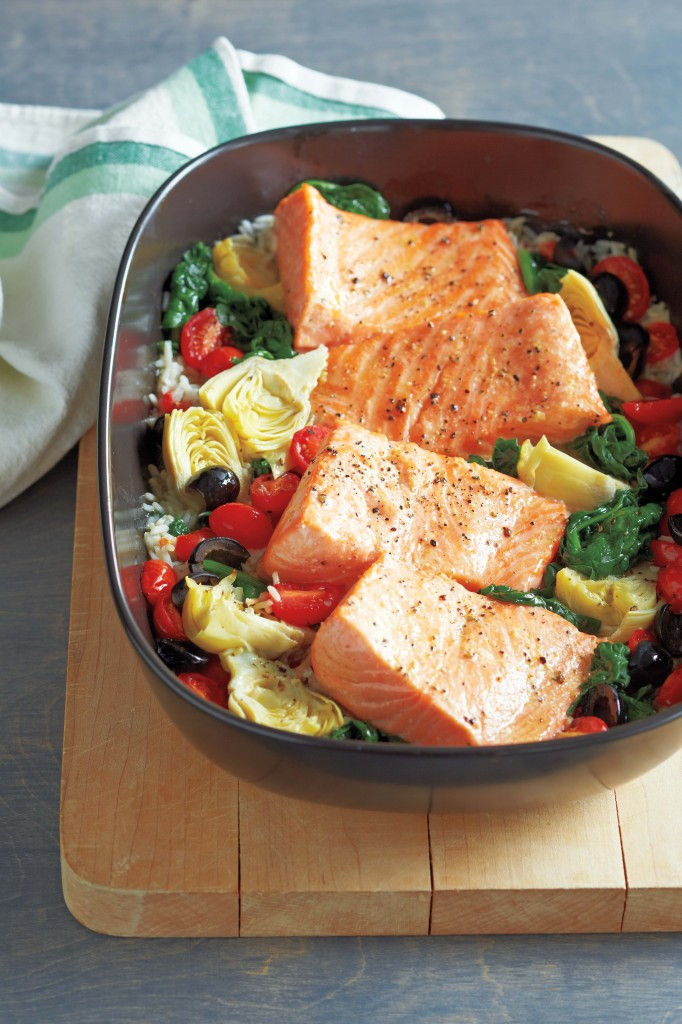 gluten free 101 Roasted Salmon